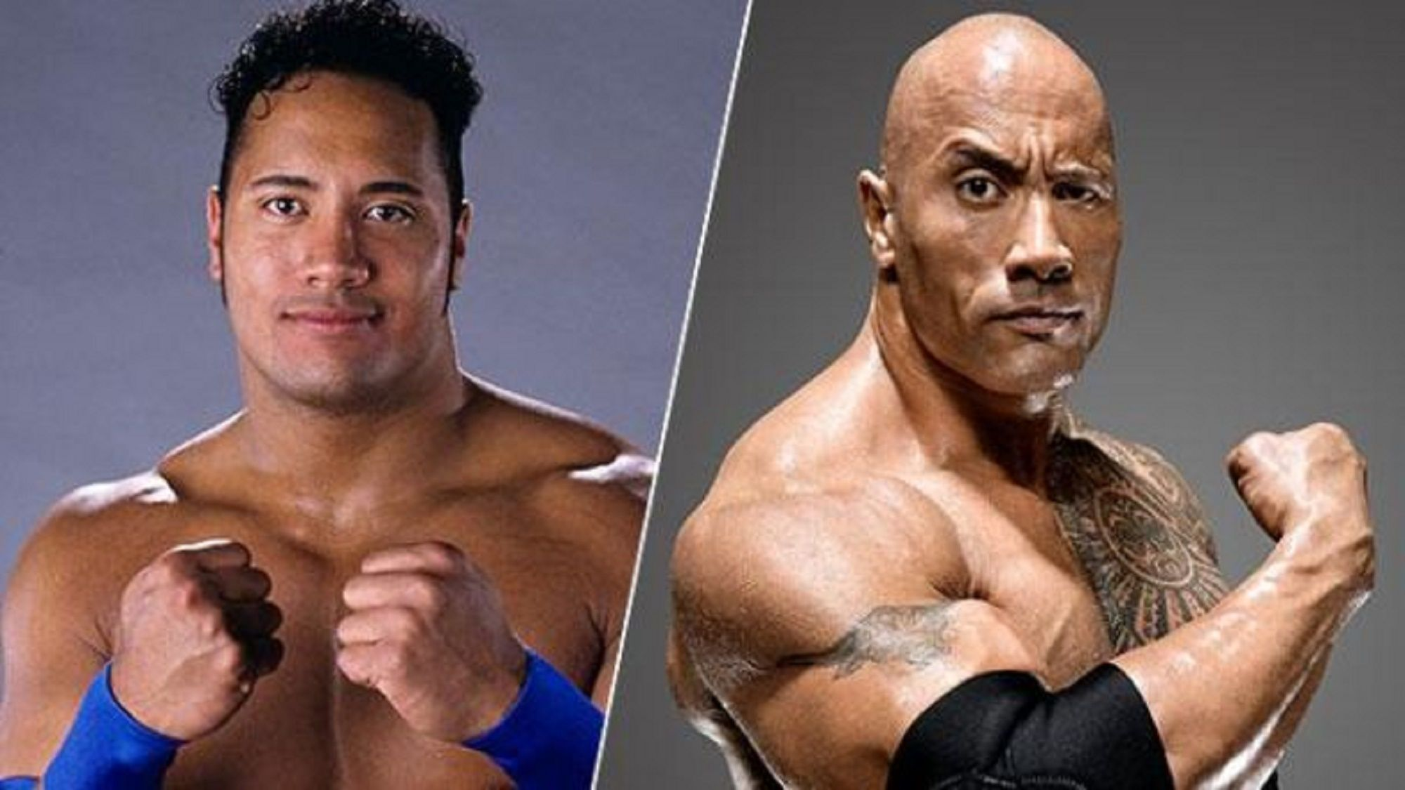 Rocky maivia to the rock thesportster