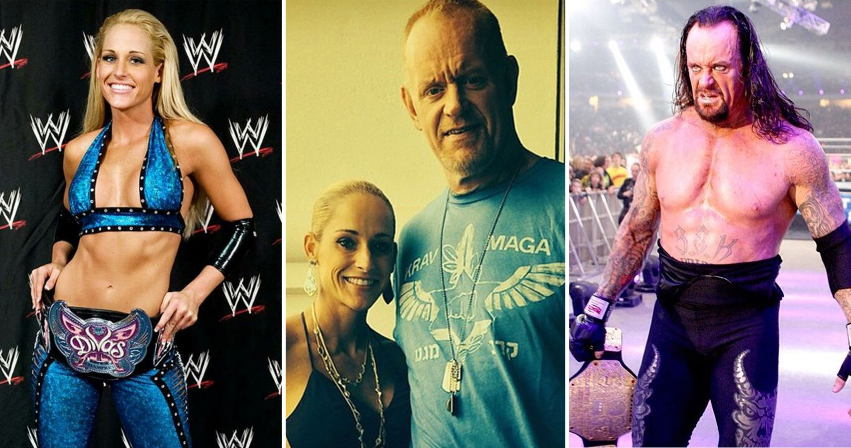 Undertaker And Kane In Real Life Top 15 Real Life WWE C...
