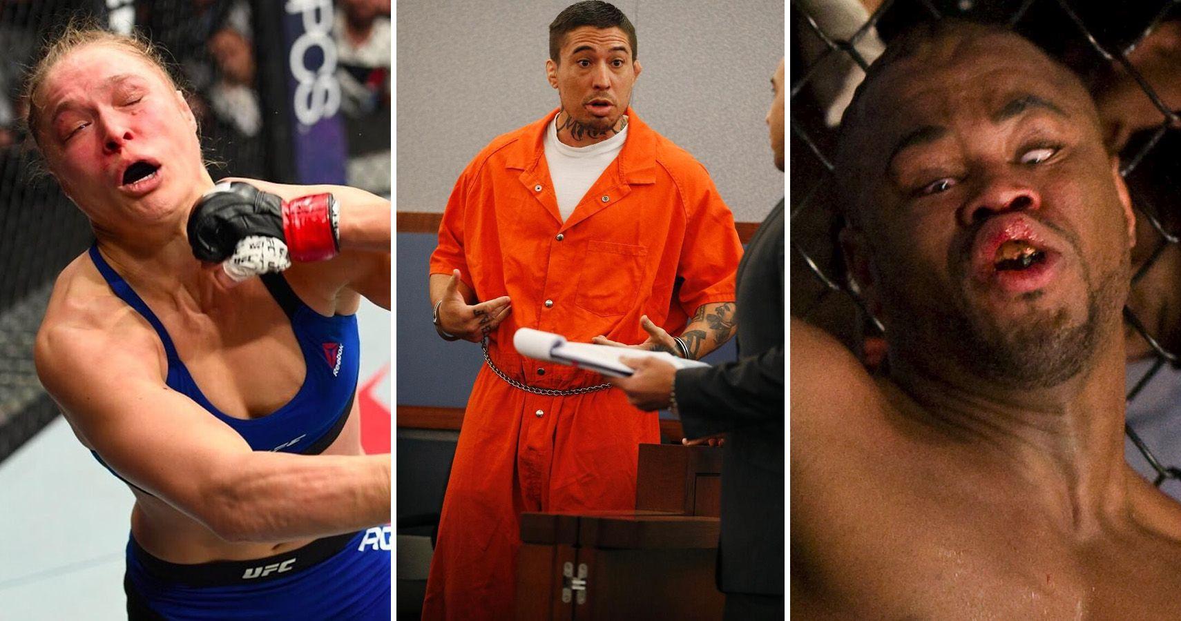 Top 20 Most EMBARRASSING Pics Involving MMA Fighters