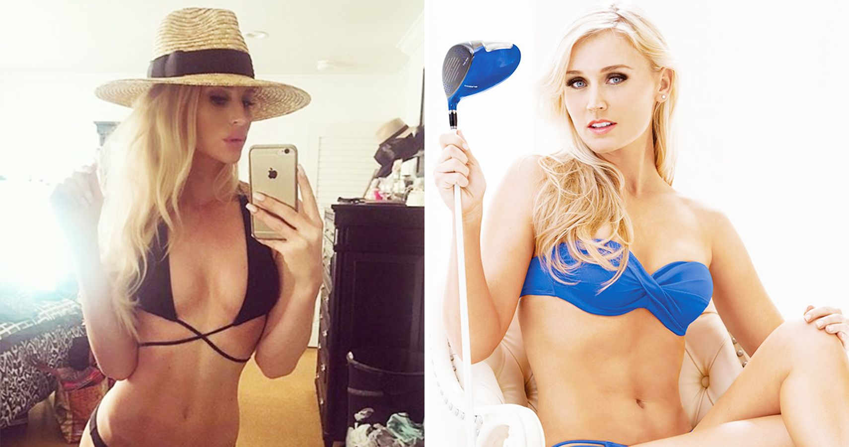 Top 15 Photos Of Female Golf Stars In Swimsuits You Need To See