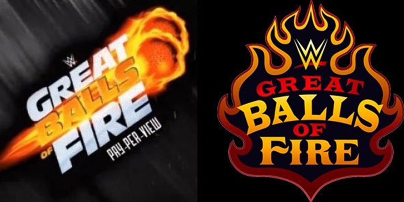 Wwe Has Changed Their Great Balls Of Fire Logo Thesportster