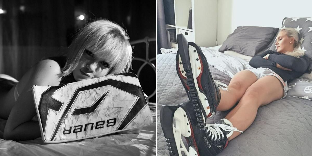 """Female Hockey Players That Have Steamy """"Assets"""""""
