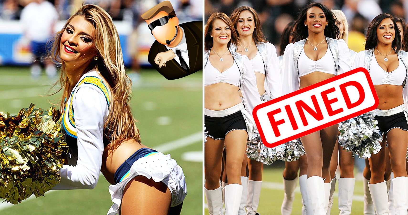 nfl cheerleaders dating