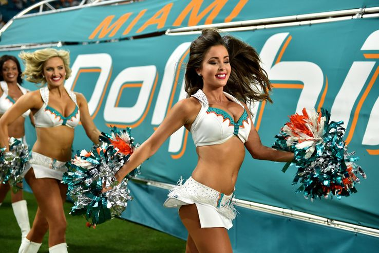 c095bfd7 Ranking Every NFL Team's Cheerleading Squad | TheSportster
