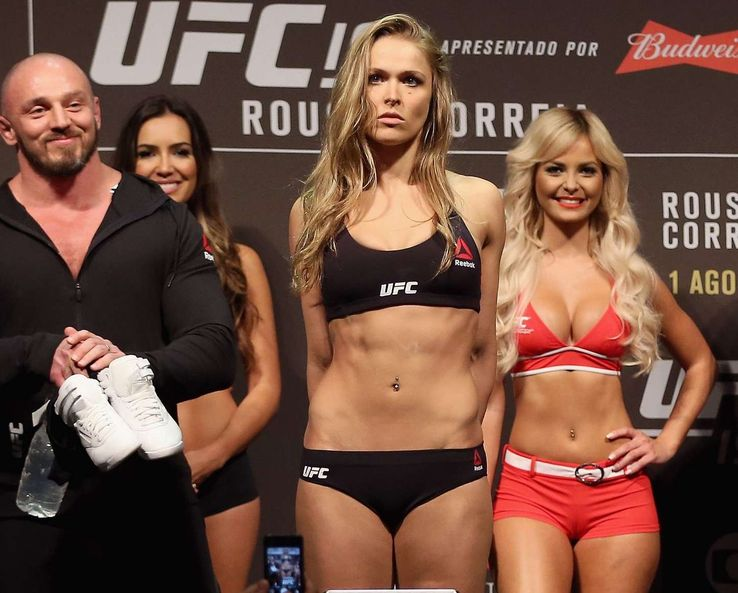 Photos Of Ronda Rousey Looking Great And Her Not At Her Best