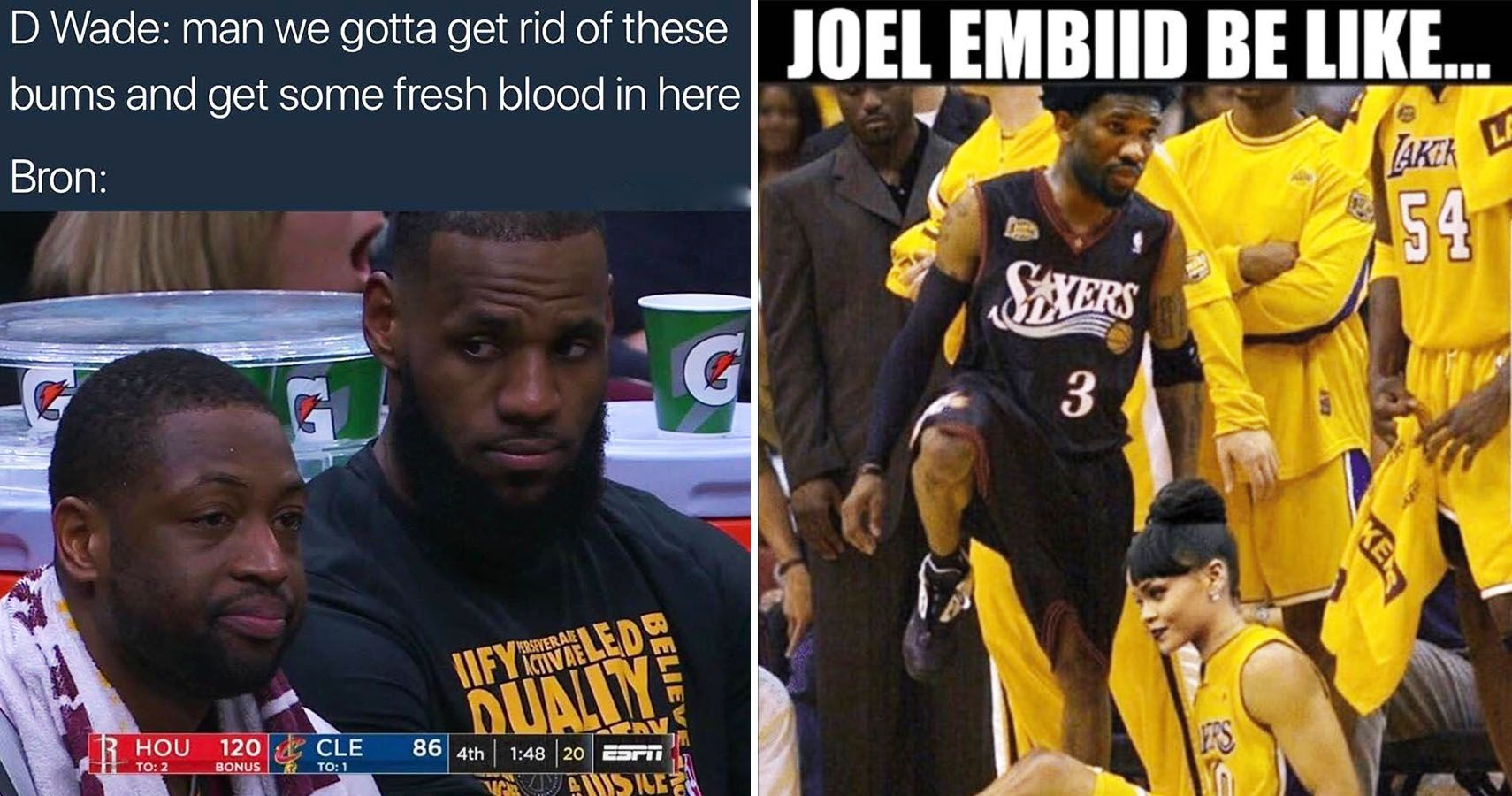 buy popular 128b2 482ed The 20 Most Hilarious Memes Of The 2017-18 NBA Season So Far