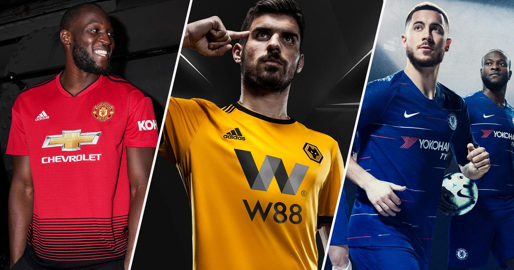 83c3456669b The 20 Premier League Home Jerseys For 2018-19, Officially Ranked