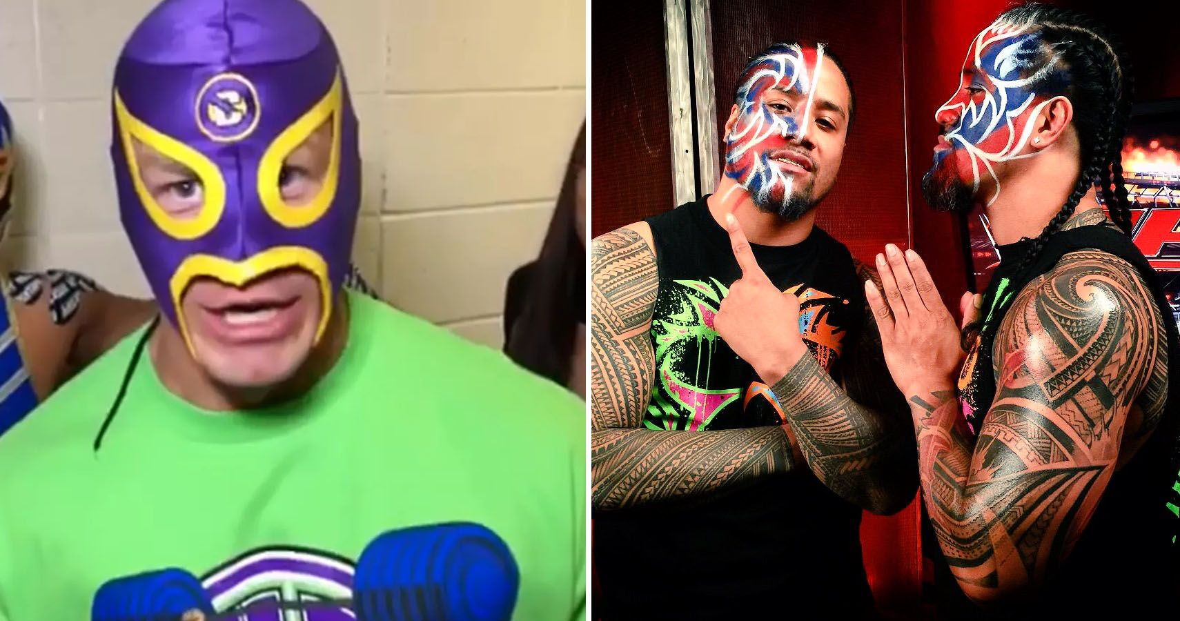 10 Wrestlers Who Once Wore A Mask And 10 Who Wore Paint