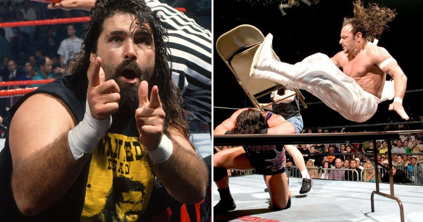 hardcore wwe wrestlers wrestling history