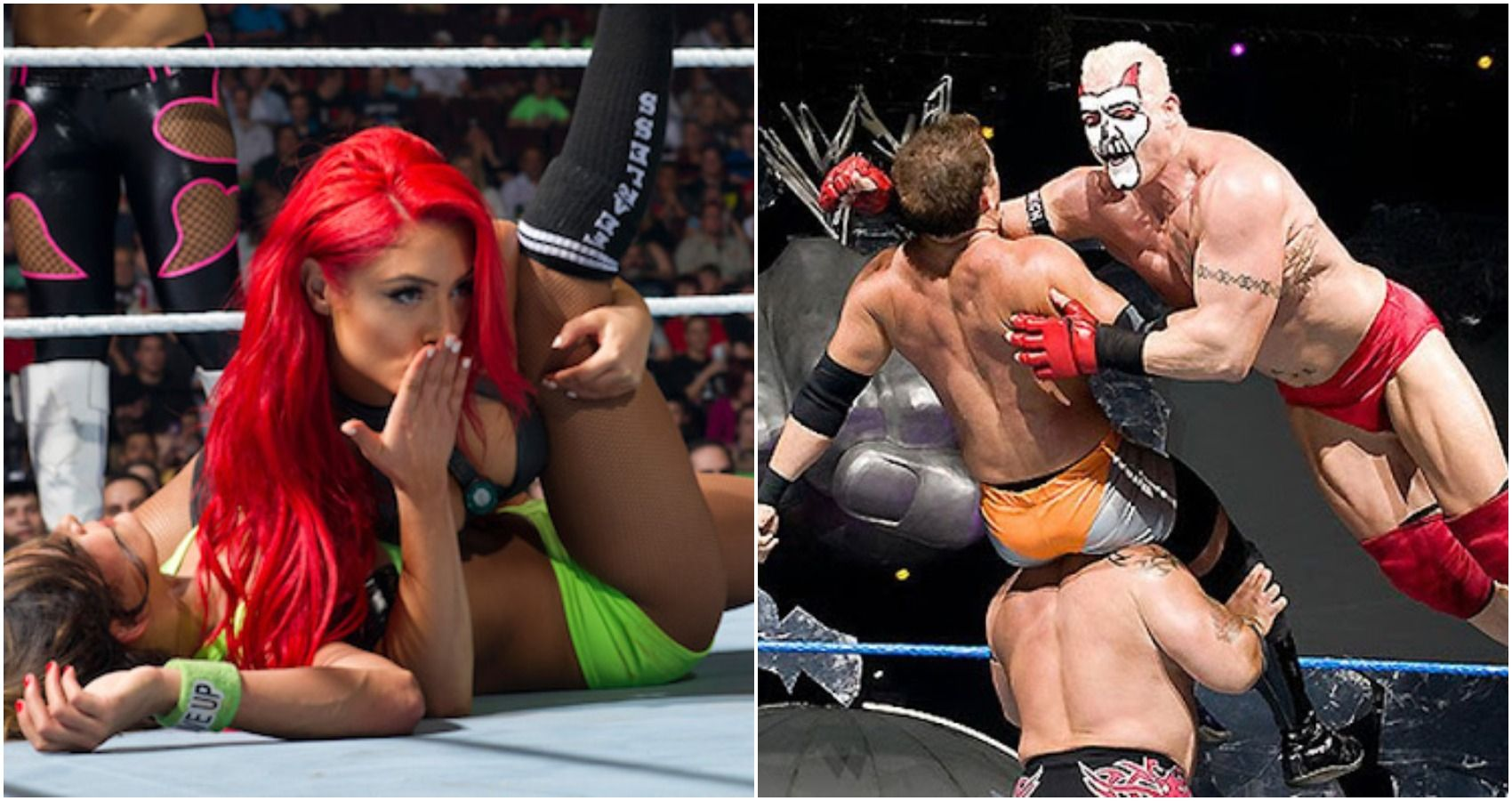 10 Wrestlers Hired For Their Looks Who Never Really Improved