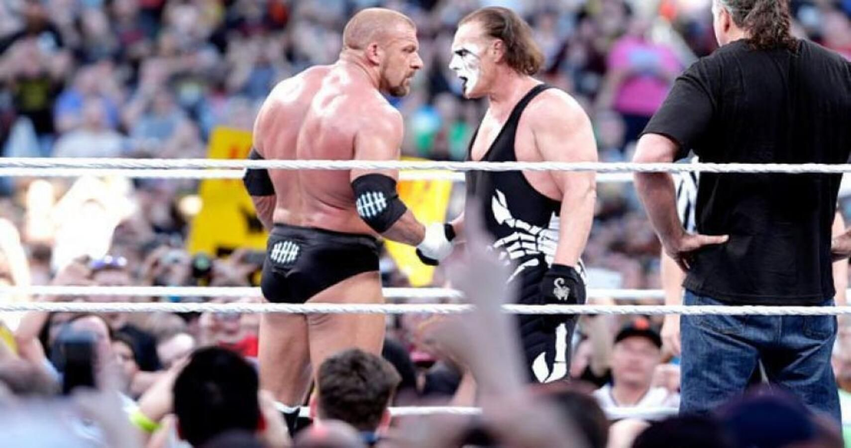 Sting Doesn't Care That He Lost To Triple H At WrestleMania 31
