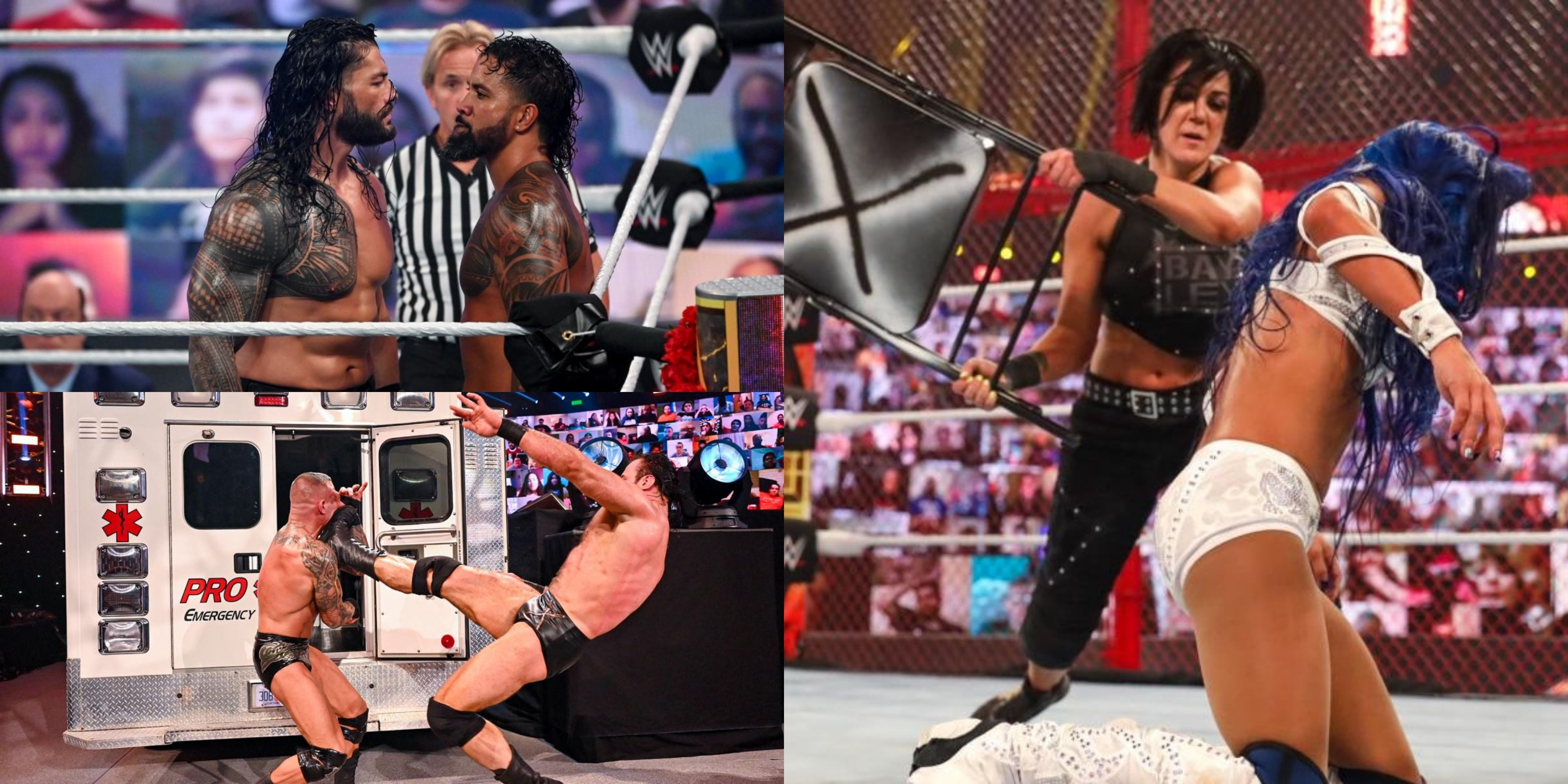 The 10 Best Matches In WWE Thunderdome History | TheSportster