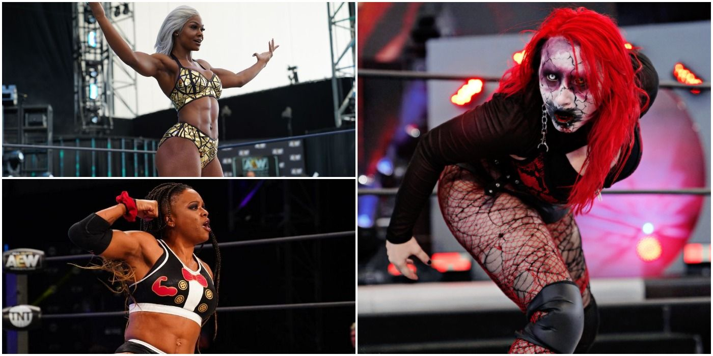 Big Swole & 9 Other AEW Women Ready To Break Out | TheSportster