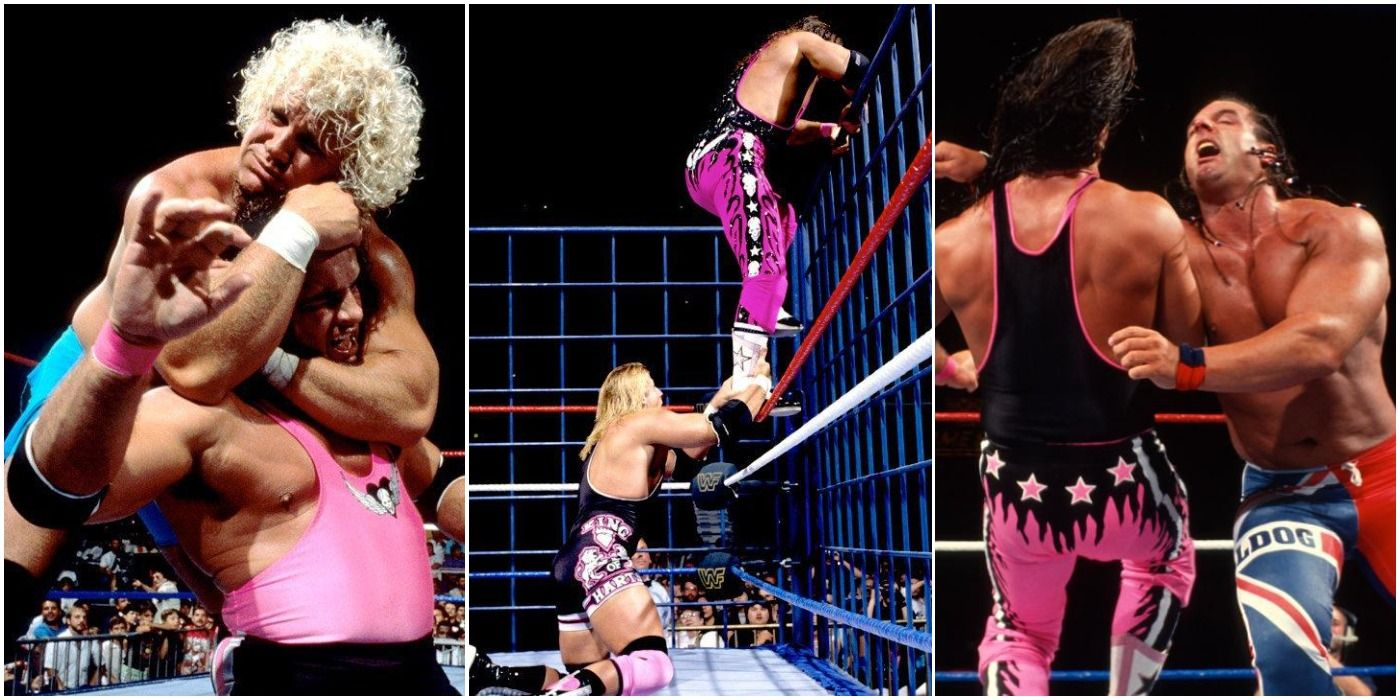 Every Bret Hart Match At SummerSlam, Ranked From Worst To Best