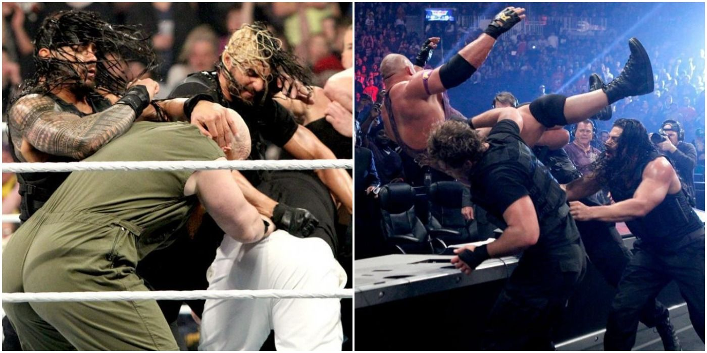 The Shield's 10 Best Matches, According To Cagematch.net