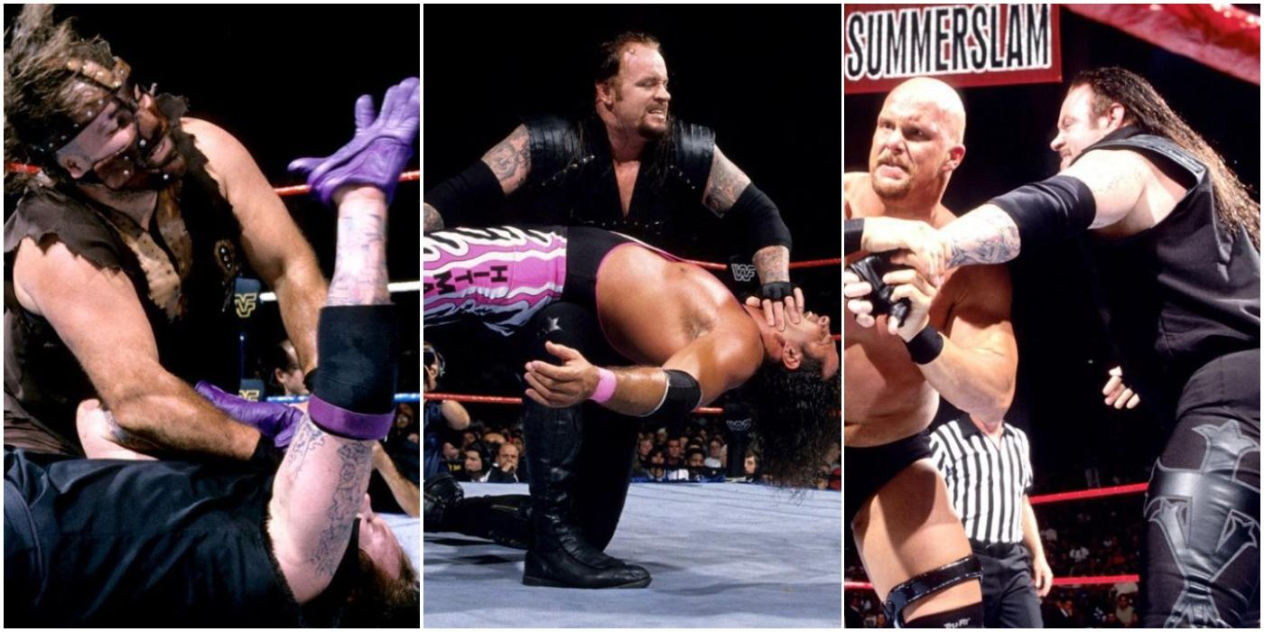 The Undertaker's First 10 SummerSlam Matches, Ranked From Worst To Best