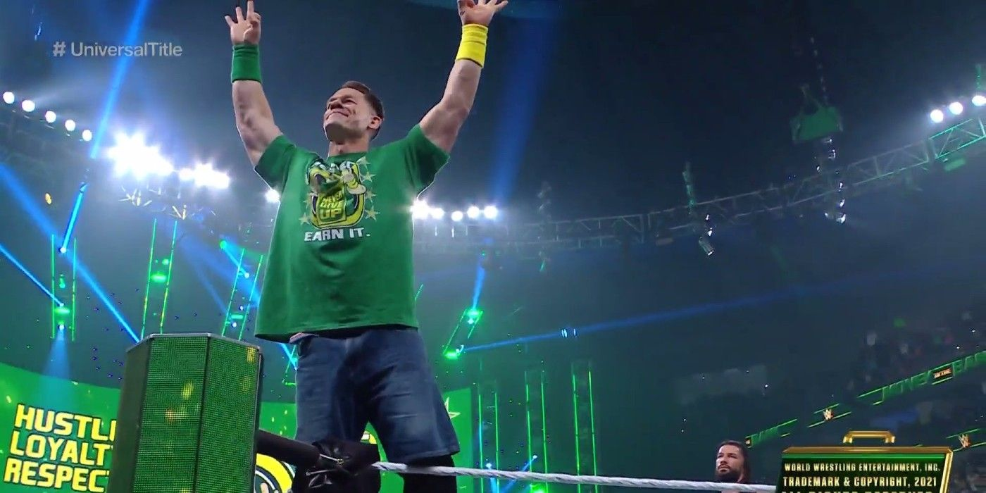 2021 WWE Money in the Bank results, recap, grades: John Cena returns to WWE after epic main ...
