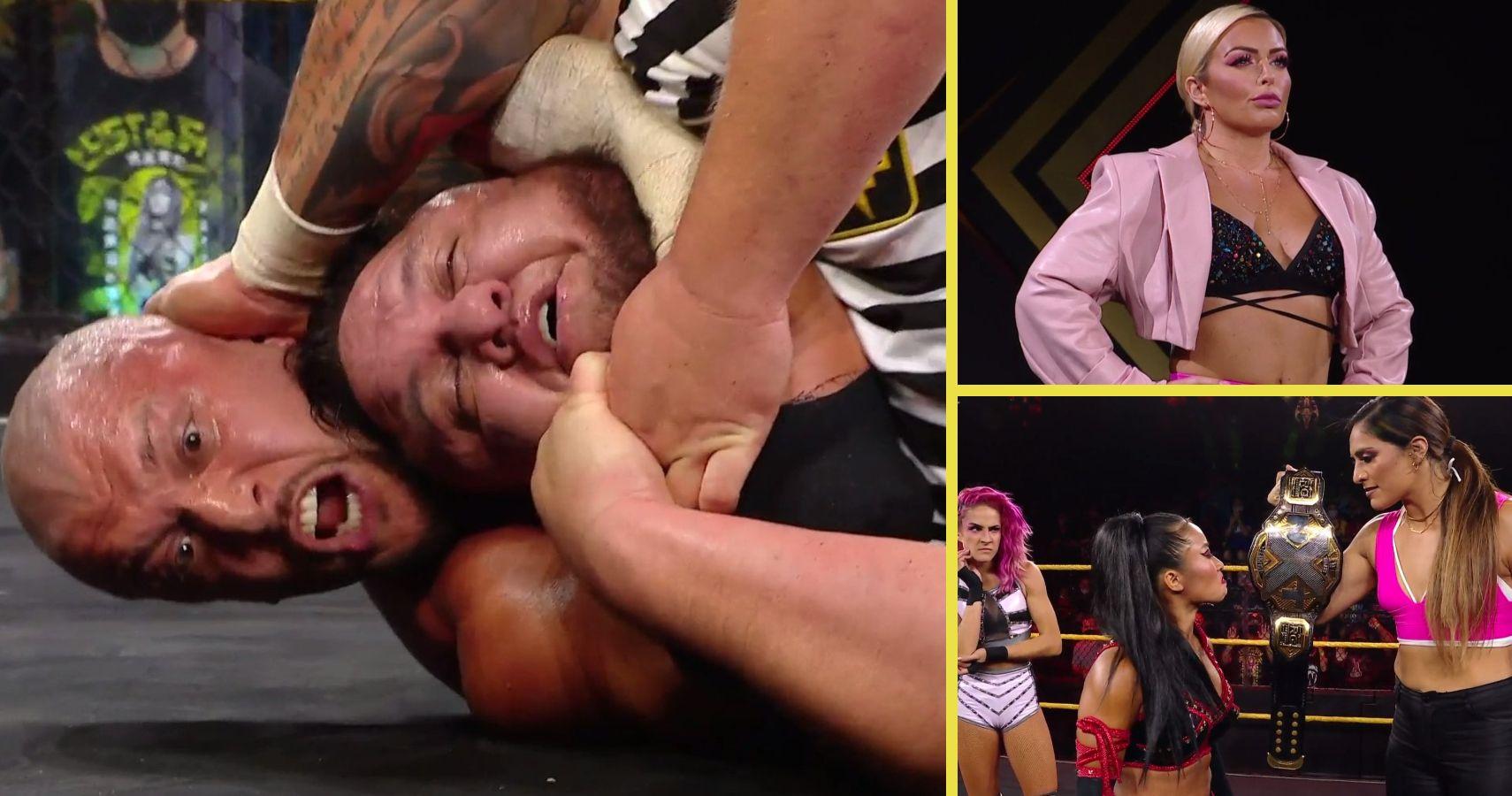 NXT Winners And Losers: Karrion Kross Chokes Out Samoa Joe, Mandy Rose Returns