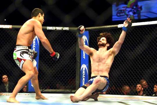 Unbelievable MMA Self Knockouts